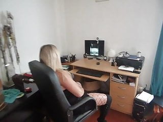 Masturbation with a uti - Masturbation with a stranger in cam