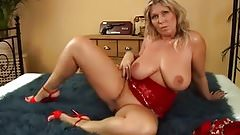 Hot milf and her younger lover 764