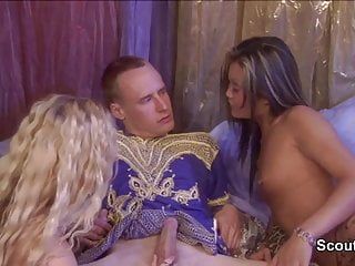 Vintage german threesome porn German vintage threesome porn with orientiel perfect girls