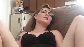 Sneaky masturbation in my mom's house.