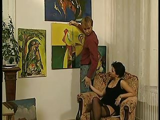 Gallery transvestite Art gallery sex party