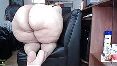 Mega Butt Milf On Webcam