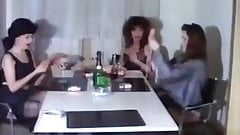 vintage orgy party with a little piss