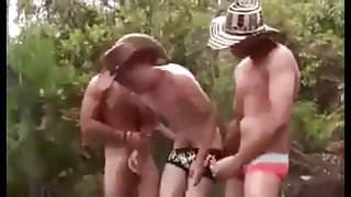 Colombian gays fucking outside