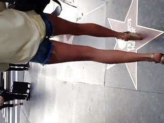 Sexy blond mature video long Sexy long white legs in daisy dukes