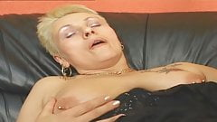 VODEU - 62-year-old granny takes a young cock
