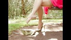 MILF Nylon Foot & Leg Tease 03