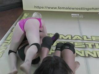 Naked wrestling tag team Briella carmella vs monroe mylina tag team wrestling