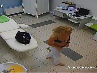 Fuck the staff I spy on the staff of a beauty salon