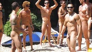 MEN OF AQUA MEN 9 wet & naked men in paradise