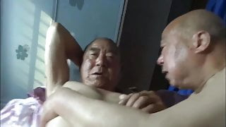 Asian gay grandpas