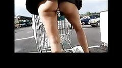 Shopping With Dildo in Ass in More Fun By TROC