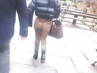 Depend adult printed pull-ups Leopard print caucasian