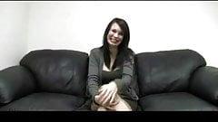 Pregnant Brunette Casting by TROC