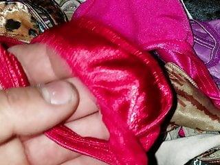 Young bikini world collection - All of my satin panties and thong collection