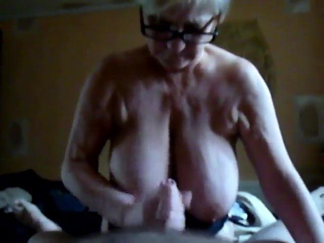 Big Tit Grandma Handjob