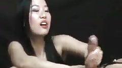 Asian bdsm on white