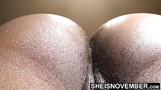 Secretary Msnovember eats her Boss & Smells Hairy Asshole HD