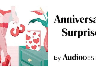Erotic audio podcasts Anniversary surprise audio porn for women, erotic audio