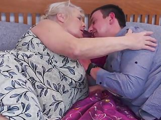 Hairy grannies and young boys Old granny gets her last sex with young boy
