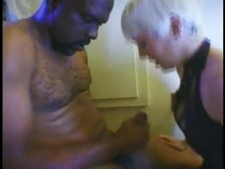 Used vintage sconce light bathroom - Blond mistress using a black guy as fuck toy in bathroom