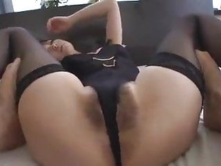 Hairy jailbait asians - Uncensored sexy japanese nymph in lingerie