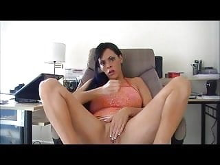 Mommy Instructs Her Little Man To Spunk On Her Pussy