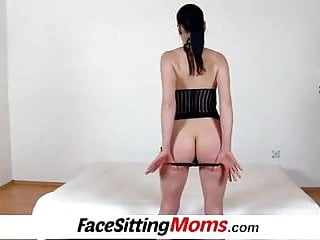 Face fuck heels - High heels legs czech lady renate sitting on a boys face