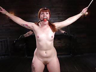 Cbt extreme bondage - Pain slut in extreme bondage