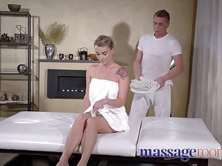 Oily butts and tits Massage rooms oily fuck for glamorous big tits squirting rim