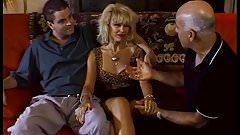 Trashy Blonde Housewife Deep Anal Sex