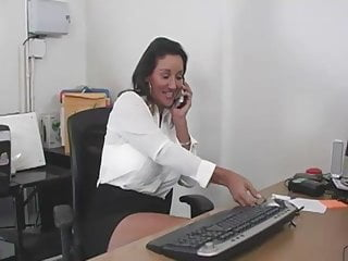 Mom son office tube tits - Mom in an office
