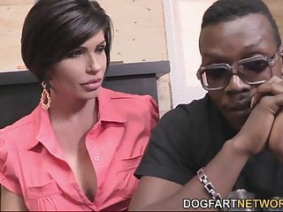Shay nude - Shay fox comforts a black guy by having sex with him