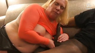 Slut Anna fucked while cuck husban Clayton  watche & cleans