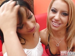 Facial flushing with kenalog Fist flush horny chicks go to town on each others tight