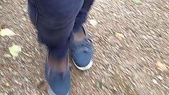 Walk in Skinny Jeans and Nylon 3