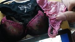 Cumming on teen girls underwear and tributing