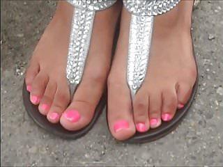 Shante merol tgp Shante leet pink toenails