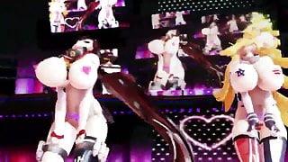MMD Iowa and Nagato Sex Dance
