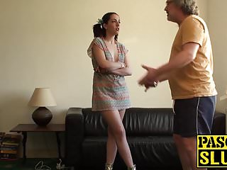 Liz cum slut Dirty slut liz punished hard by pascal