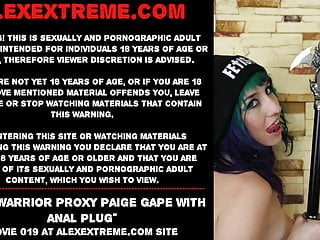 Warriors suck Anal warrior proxy paige gape with anal plug