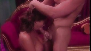 Tera Patrick drops to her knees and give stud head