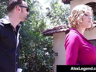 Realtor that fucks Cock hungry realtor krissy lynn fucks client alex legend