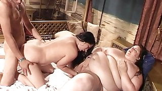 Swingers and a very, very fat and horny woman