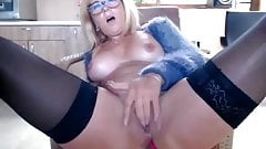 Does anyone know her name? Blonde Milf on Webcam