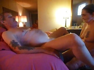 His ass handed to him Fucking my husbands prostate in his ass his cum on my hand
