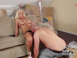 Kristen davis sex tape views Celina davis pays her neighbour for renovating with hot sex