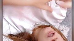teen in bed