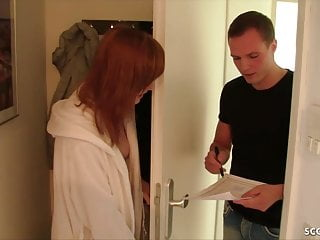 Hungry repairman sex Skinny german redhead teen anny aurora fuck the repairman