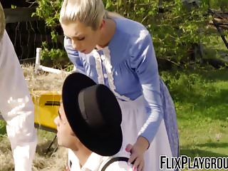 Watson boobs Blonde amish girl tiffany watson getting fucked in her ass